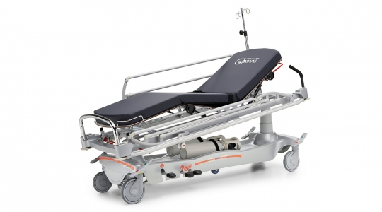 Рентгенопрозрачная реанимационная тележка - каталка для перевозки пациентов ВТ 1400
