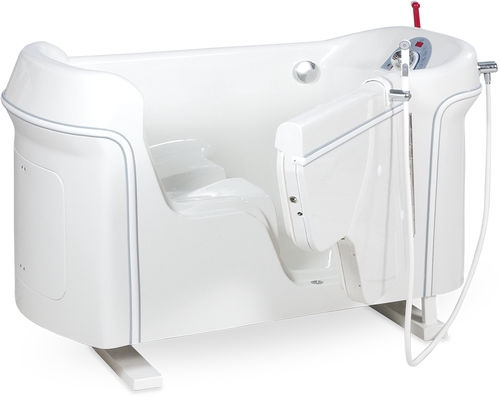 Ручная медицинская ванна с сиденьем для душа и дверью HERA