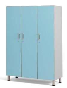 Медицинский палатный шкаф с 3 отделением из биламината 13-FP183 (Вариант 1)