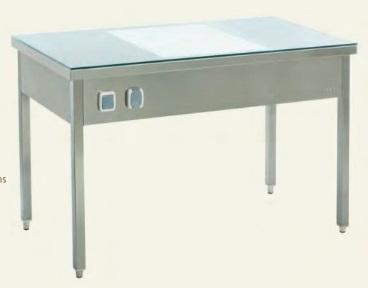 Складной стол для белья со освещением 2190