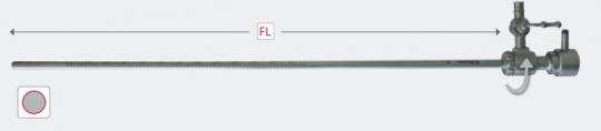 Диагностическая стержневая трубка для гистероскопии