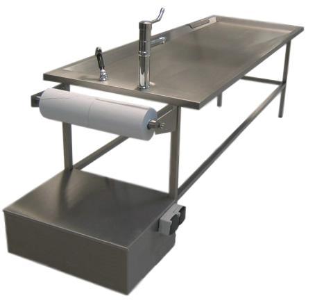 Стол для проведения вскрытия Hygeco BASIC 33501