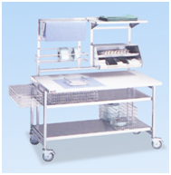 Стол для упаковки и контроля для отделения стерилизации