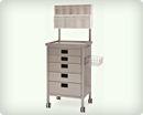 Стол-тележка анестезиологический на колесах для анестезиолога 40340
