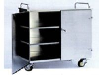 Медицинская тележка для контейнеров 16-SO910
