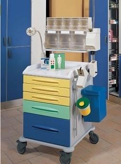 Тележка для анестезиолога 16-FT630