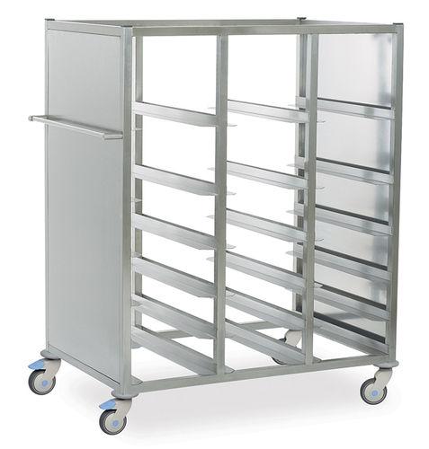 Медицинская тележка для корзин и контейнеров MSAK 8000