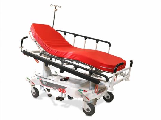 Тележка - каталка медицинская для перевозки пациентов Malvestio INTHES 320834