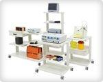 Тележки медицинские для аппаратуры