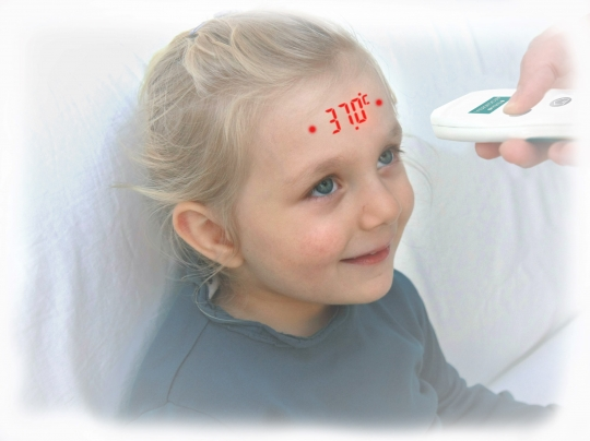 Термометр медицинский VISIOFOCUS mini