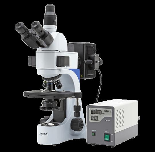 Типовой лабораторный микроскоп B-383 FL
