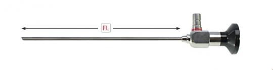 Тубусы для оптики Ø 2,7 мм. (187 мм.)