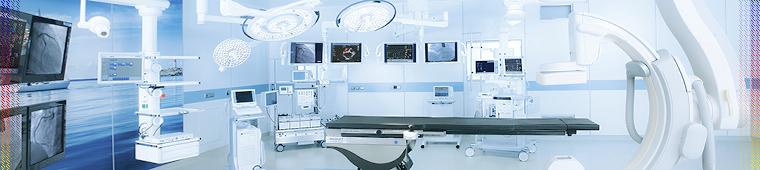 Комплексное оснащение оборудованием и медицинской мебелью учреждений по всему миру