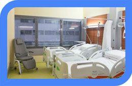Оснащение медицинских палат