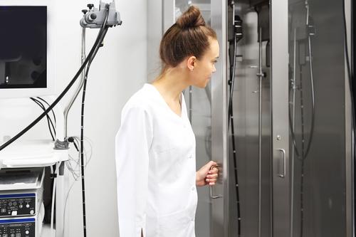 Шкафы для стерилизации и хранения эндоскопов