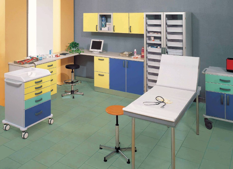 Мебель и оборудование для амбулатории