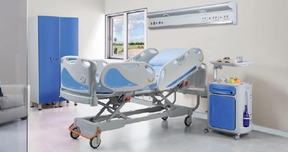 Реанимационные кровати многофункциональные