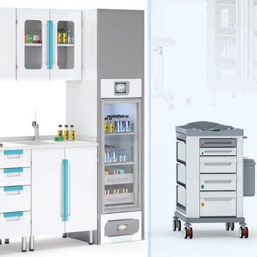 Медицинский шкаф для больницы под заказ
