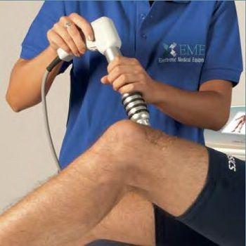 Процедура ударно волновой терапии 2
