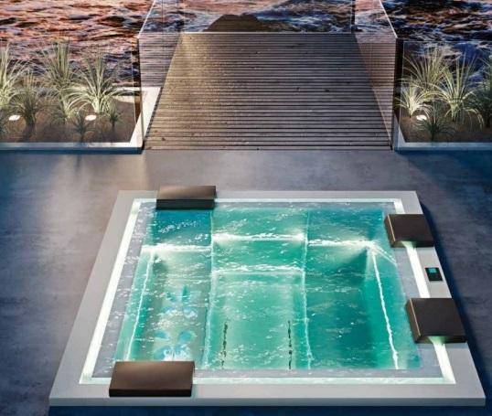 Гидромассажные ванны СПА