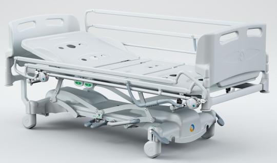 Гидродинамическая медицинская кровать