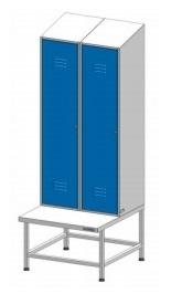 Шкафы для одежды медицинские