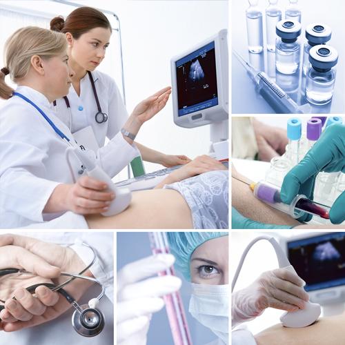 Комплектующие к медицинскому оборудованию и мебели