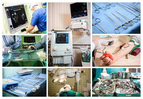 Запчасти для медицинского оборудования - мебели и комплектующие