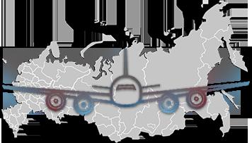 Сервис компании Тех-Мед по всей России