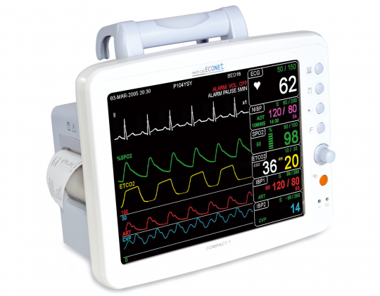 Мониторы пациента: виды и особенности