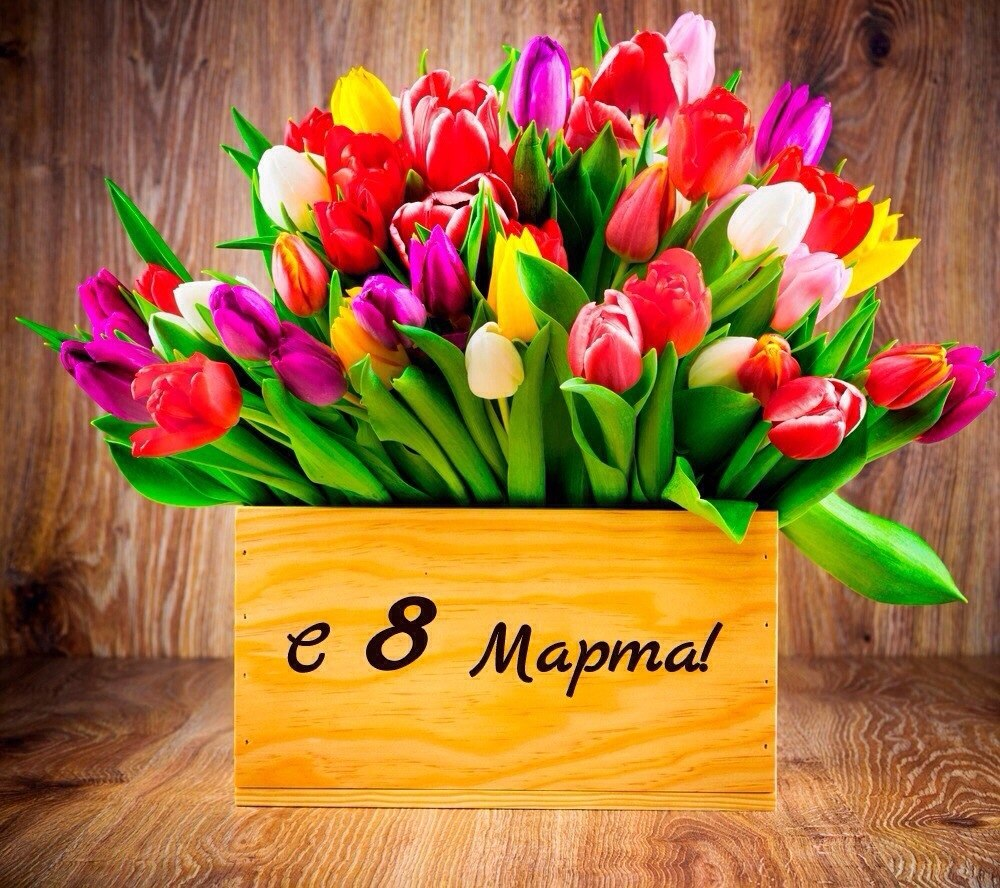 Милые дамы c 8 марта!