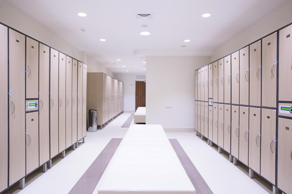 Металлические медицинские шкафы для одежды