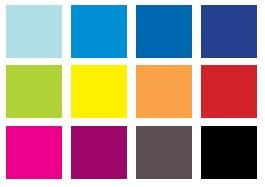Цветовые решения ванны