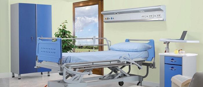 Медицинские функциональные электрические кровати