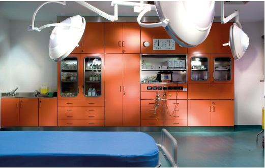 Оснащение медицинских учреждений различного профиля