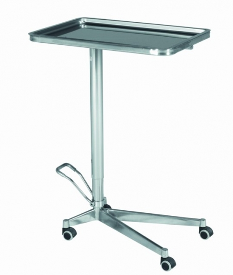 Манипуляционный инструментальный медицинский столик на колесах