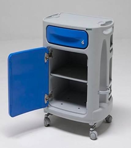 Медицинская прикроватная тумбочка 14-SP100