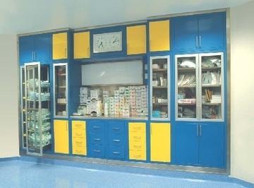 Специализированные медицинские модульные шкафы для операционных