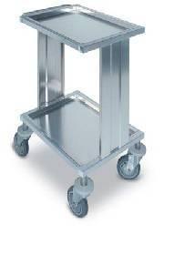 Тележка - стол медицинский процедурный для инструментов из нержавеющей стали 16-FP472