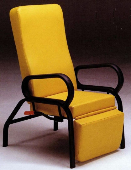 Кресло медицинское для отдыха с прямой спинкой 17-FP337