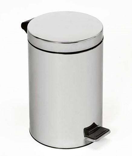 Контейнер для отходов из нержавеющей стали с пластиковым ведром на 14 л