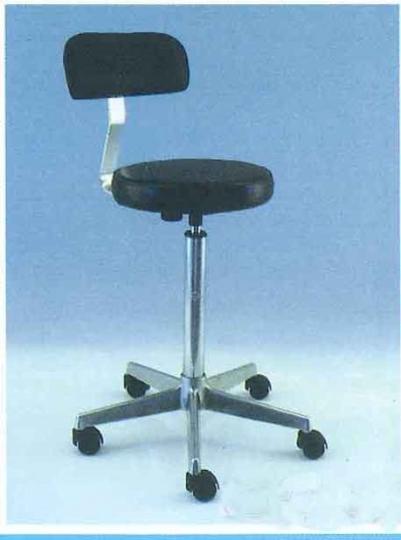 Медицинский стул-табурет с газовым поршнем