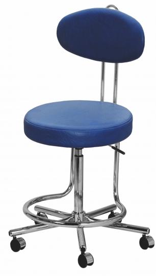 Стул для кабинета с опорой для ног V3646