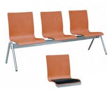 Кресло - скамья для зала ожидания V016HAA