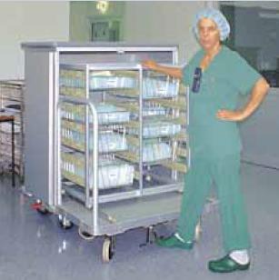 Транспортная медицинская система челночного типа