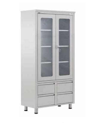 Медицинский шкаф для инструментов и лекарств 40506