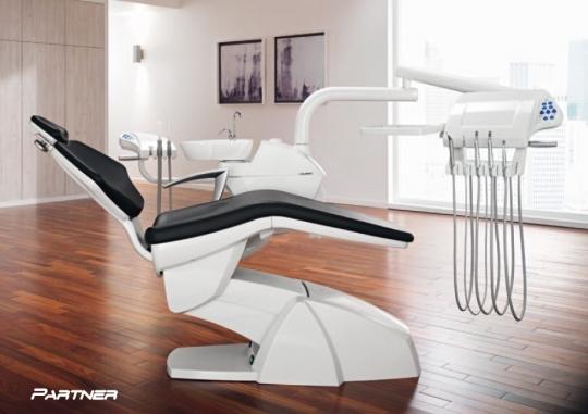 Стоматологическая установка с аппаратом амальгамы - Swident Partner