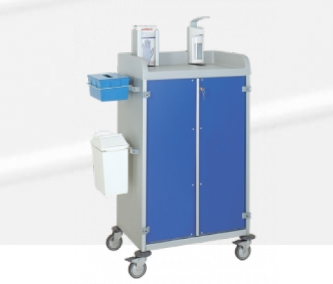 Тележки для медицинской помощи - Alva код 3955/2 CR
