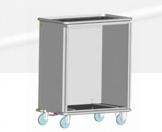 Тележка для отделения стерилизации с 2 секциями ISO - код SY 5000