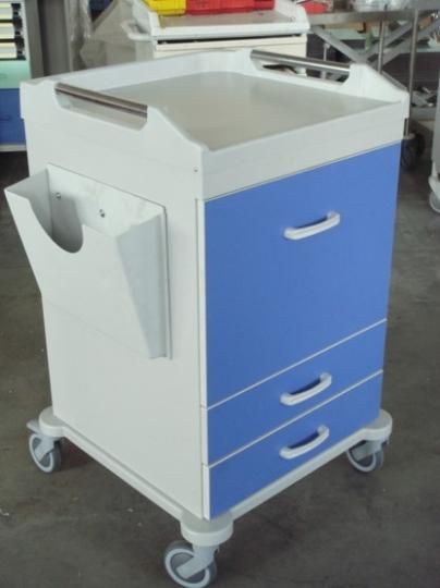 Медицинская тележка для перевозки 20 клинических карточек 16-CA620
